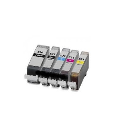 Magente 10ml con chip per Canon Ip3600/IP4600/MP540/MP620