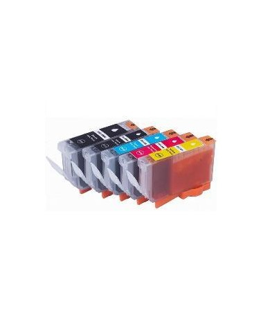 26ML -Nero  PGI 5BK  Con chip compatibile for canon serie 8