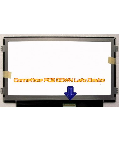 10.1 B101AW06 M101NWT4 WSVGA Display LED glossy SLIM