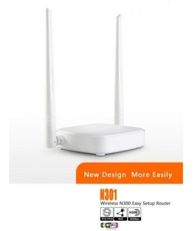 Router wireless Easy setup 300Mbps Tenda N301