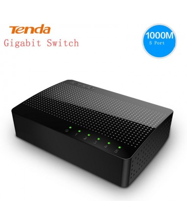 Switch 5 porte Gigabit Ethernet Desktop Tenda SG105