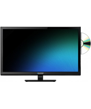 23,6'' LED HD TV 720p con DVB-T2 (H.265 Main 10), USB e DVD